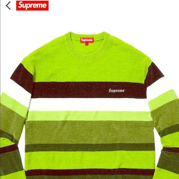 42c5915f Supreme Sweaters | Chenille Sweater | Poshmark